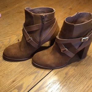 NWOT BOOTS SUEDE & Leather Boots sz11.5